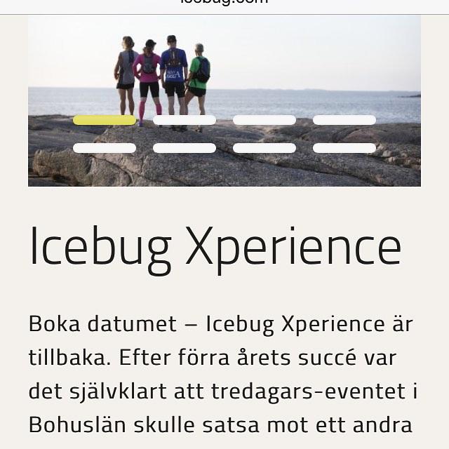 Icebug Xperience! Roligt träningsläger! I Bohuslän. Och jajjemän, Gunnar ska med!