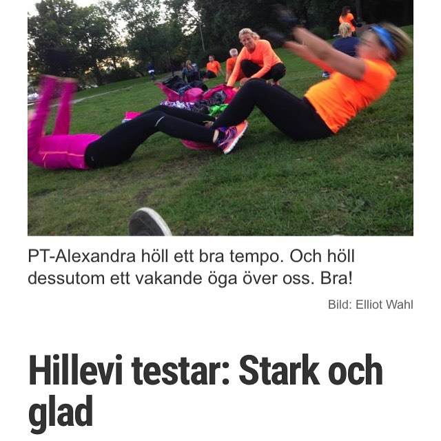 Hillevi testar! Har du fler tips på vad jag borde testa? Maila mig: hillevi@hillevi.nu Http://www.vardagspuls.se/bloggar/hillevi-wahl/hillevi-testar-stark-och-glad/