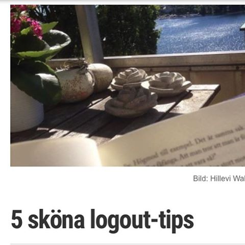 Mina fem bästa logout-tips just nu.