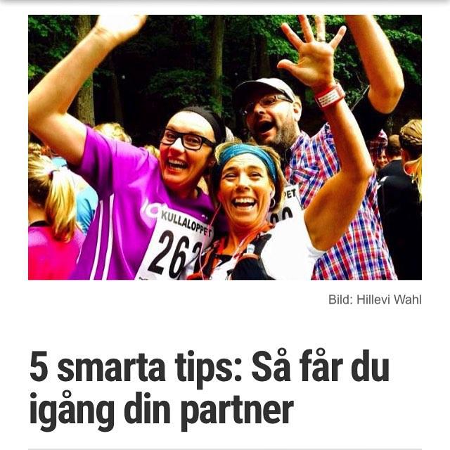På måndag ska jag och Gunnar vara med i TV4 Vardagspuls och prata om hur man bäst får upp sin partner ur soffan. Här är våra fem bästa tips. Vilka är era bästa tricks? http://www.vardagspuls.se/bloggar/hillevi-wahl/5-smarta-tips-sa-far-du-igang-din-partner/