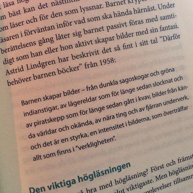 Astrid Lindgren om den viktiga högläsningen. En gåva till alla barn.