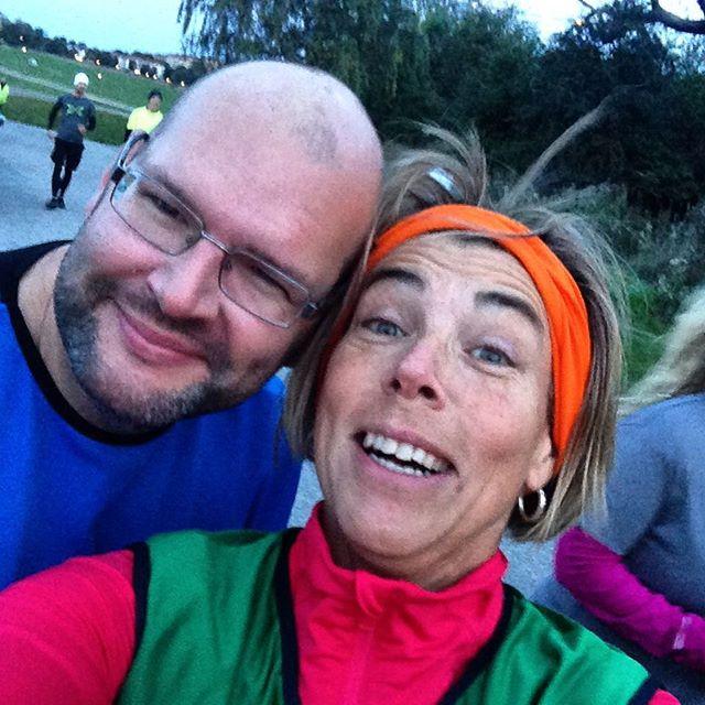 I morse sprang vi för Världens Barn. P4 Stockholm insamling. Med bästa NMT-kompisarna.