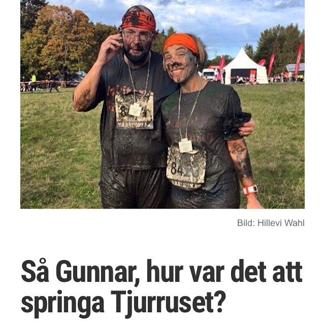 Liten mini-intervju med Gunnar. Lera och kärlek. Http://www.vardagspuls.se/bloggar/hillevi-wahl/sa-gunnar-hur-var-det-att-springa-tjurruset/