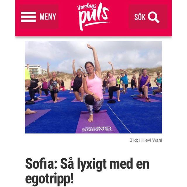 Sofia blir bara starkare och starkare. I kropp och själ. Http://www.vardagspuls.se/bloggar/hillevi-wahl/sofia-sa-lyxigt-med-en-egotripp/