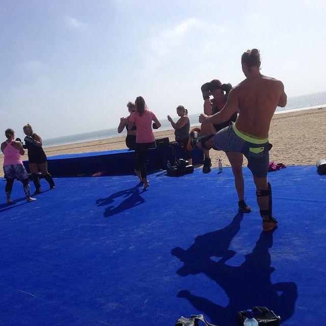 Thaiboxning på Plankan. Kul!