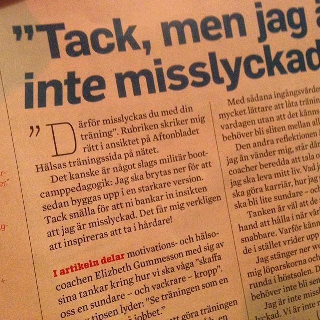 Det här gör mig så jädrans förbannad på ren svenska. När Friskis och Svettistidningens chefredaktör sprider felaktiga taskiga fördomar om militärträning. Den militärträning jag känner till genom Nordic Military Training är INTE nedbrytande och bankar INTE in ett tänk om att man är misslyckad. Tvärtom! De fantastiska instruktörerna peppar och bygger självförtroende långt bättre än någon annan jag någonsin mött. Visst, träningen är tuff. Men somliga av oss mår bra av att få ta i lite extra. Låt oss gilla olika. Inte klanka ner den tuffare träningen. @mattiaswisingbonde