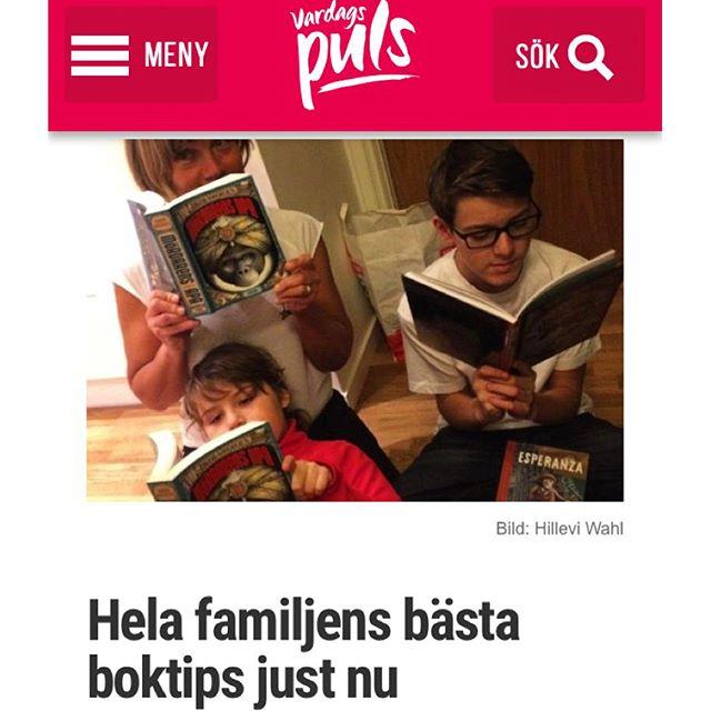 Heta boktips för hela familjen.
