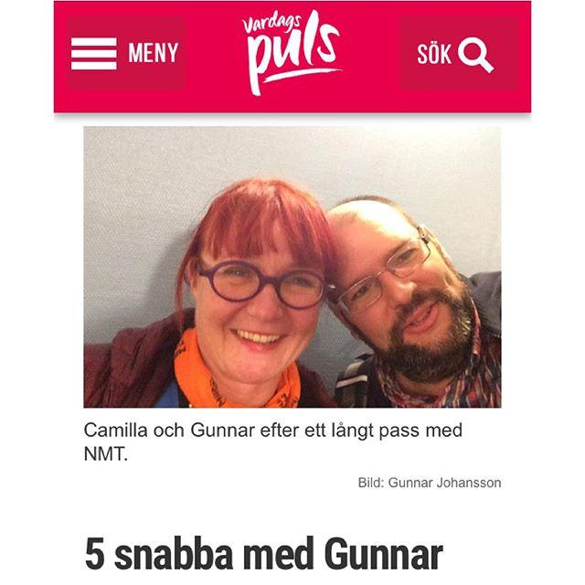 Hur går det med militärträningen, Gunnar? Fem snabba frågor och svar.