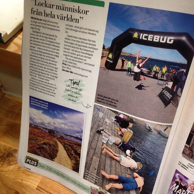 Icebug Xperience lockade människor från hela världen. Fyra sidor träningsresor för hela familjen. Aftonbladet Söndag 25/10.