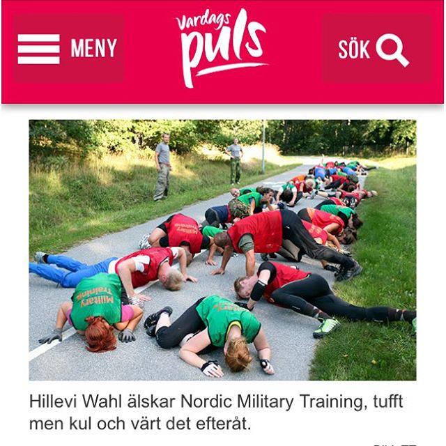 Jag älskar militärträning. I det här inlägget berättar jag varför. Missa inte tävlingen på bloggen. Du och en partner kan vinna ett rookiecamp! Http://www.vardagspuls.se/bloggar/hillevi-wahl/hillevis-blogg-6/