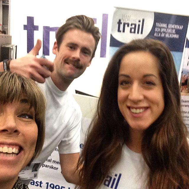 Lyckades studsa loss med Miranda och Alex i Team Nordic Trail och gjorde upp planer för många magiska upplevelsemil.