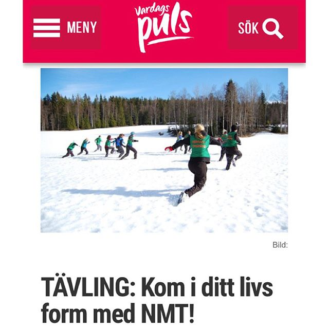 Nu kan du också vinna ett rookiecamp till dig och din partner! Tävla och vinn! Läs mer på bloggen. Http://www.vardagspuls.se/bloggar/hillevi-wahl/tavling-kom-i-ditt-livs-form-med-nmt/
