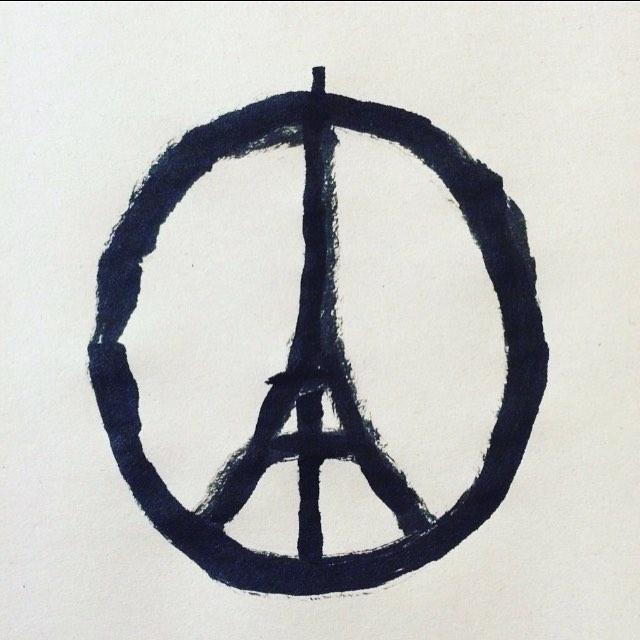 Peace for Paris. Fint.