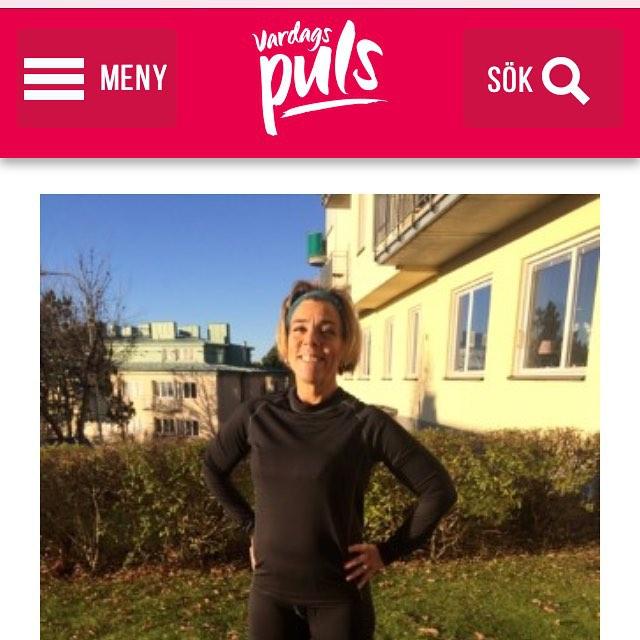 Så klär du dig rätt för utomhusträning i vinter. Massor av bra tips! Http://www.vardagspuls.se/bloggar/hillevi-wahl/sa-klar-du-dig-ratt-for-vintern/