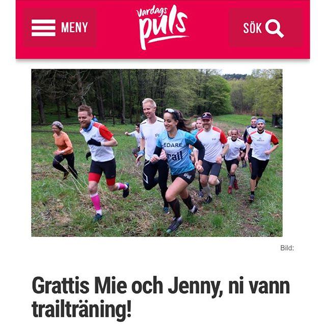 Grattis Mie och Jenny! Nuhar vi utsett vinnarna till presentkorten för träning med Team Nordic Trail!