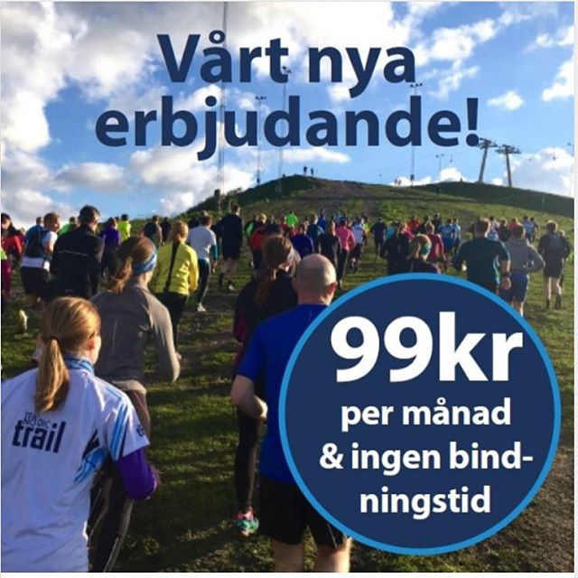Kolla! Vilken julklapp! Bästa Trailgänget. Team Nordic Trail.