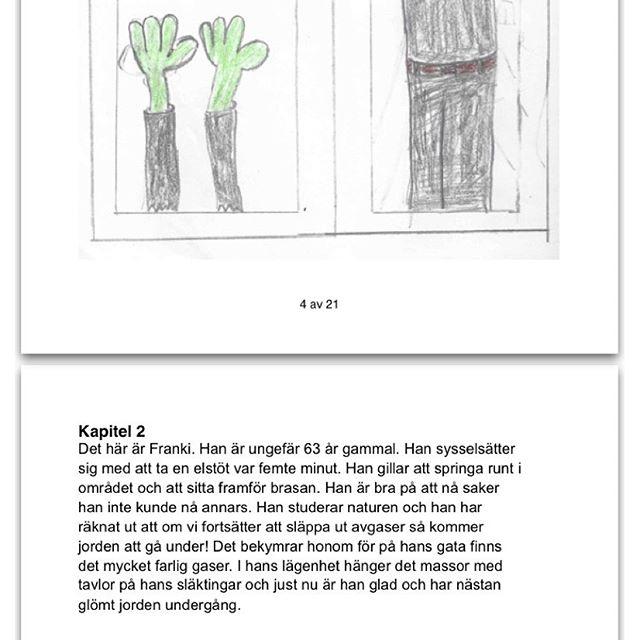 Movitz, 10, har skrivit en sådan rolig bok. Han blir jätteglad om ni läser den. Ladda ner den här: http://s3.grj.se/hOs1tNMJWm