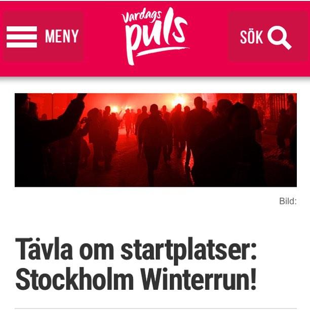 NY TÄVLING! Vinn startplatser till Stockholm Winterrun! Stockholm Winterrun flyttar in på Skansen. Redan tidigare tyckte jag att Winterrun var vinterns roligaste lopp. Nu blir loppet ännu häftigare. 30 januari 2016 springer tusentals löpare genom ett vinterupplyst Skansen. Http://www.vardagspuls.se/bloggar/hillevi-wahl/tavla-om-startplatser-stockholm-winterrun/