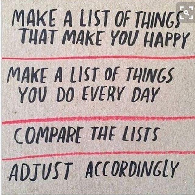 Älskar listor. Men har aldrig riktigt tänkt på att man kan jämföra, så här. Det ska jag göra i dag. Tror jag kommer upptäcka en del jag kan välja bort.