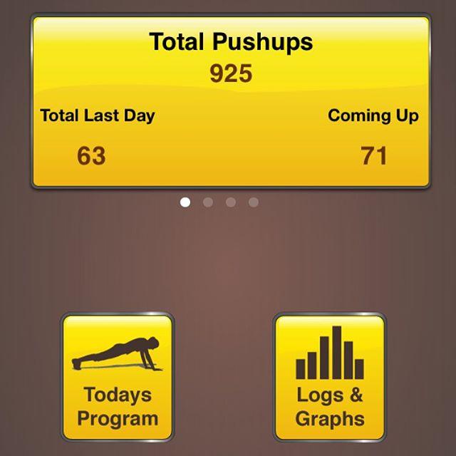 Inte illa för en onsdag. Nu har jag bara 200 crunches kvar att göra.