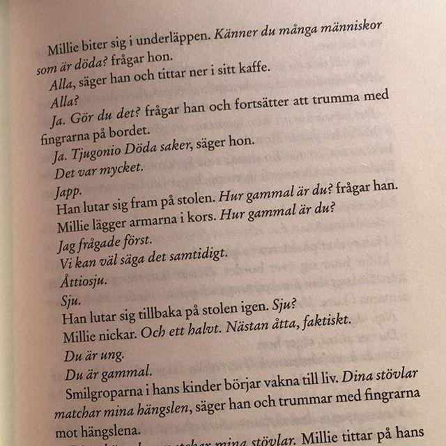 Ur Millie Birds bok om döda saker. Ni måste läsa!