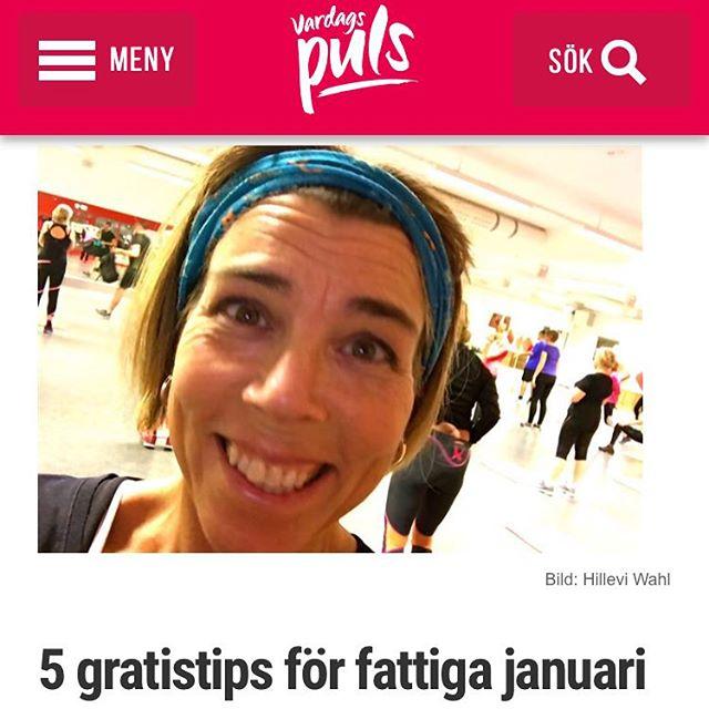 Varsågod! Mina fem bästa tips för gratisträning under fattiga januari. Vilka är dina bästa gratistips? http://www.vardagspuls.se/bloggar/hillevi-wahl/5-gratistips-for-fattiga-januari/