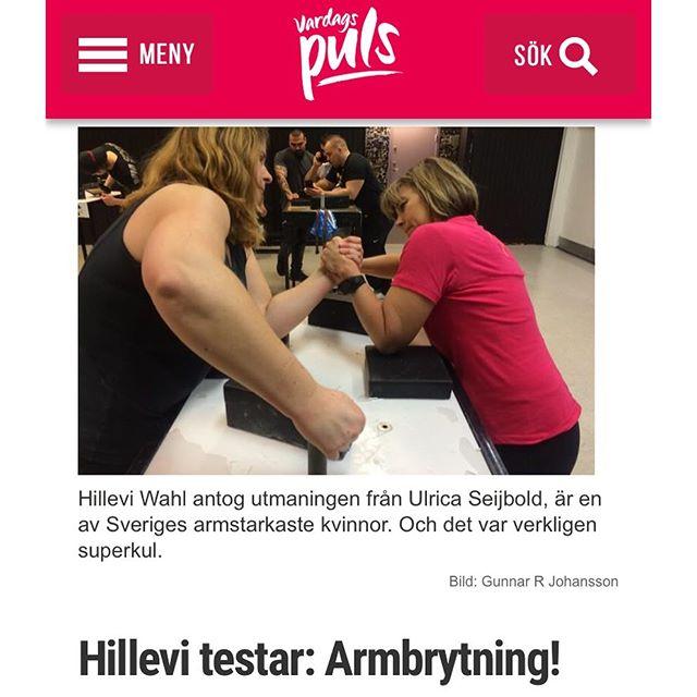 Boom! Hur var det att testa armbrytning? Här är hela familjestoryn. Vill du också testa? Eller kolla på SM? Och bli lika stark? Eller bara lära dig tricksen och tekniken? Läs! http://www.vardagspuls.se/bloggar/hillevi-wahl/hillevi-testar-armbrytning/