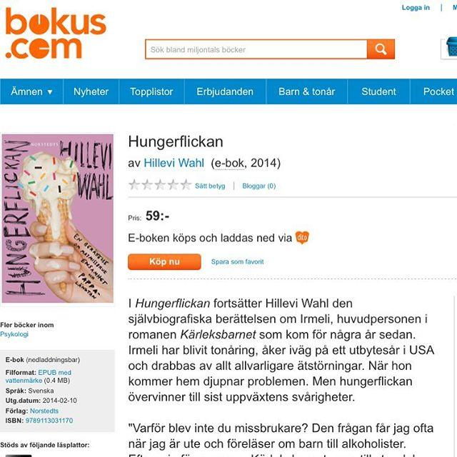 Efter Medberoendepodden frågar många var man får tag i Hungerflickan. Den finns som ebok! Superbilligt! http://www.adlibris.com/se/e-bok/hungerflickan-9789113031170