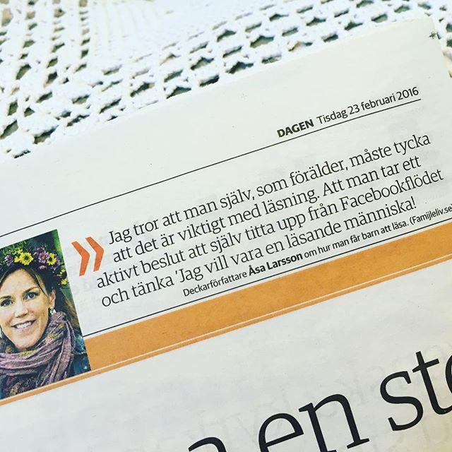 Exakt, Åsa Larsson.