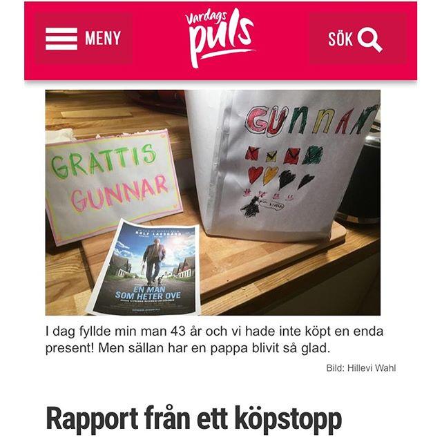 Rapport från ett köpstopp. Http://www.vardagspuls.se/bloggar/hillevi-wahl/rapport-fran-ett-kopstopp/
