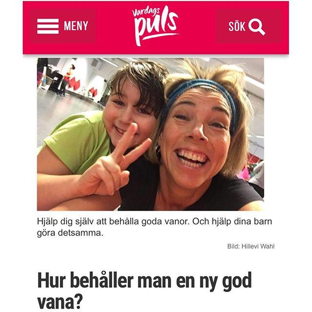 Så gör du för att behålla en ny god vana. Http://www.vardagspuls.se/bloggar/hillevi-wahl/hur-behaller-man-en-ny-god-vana/