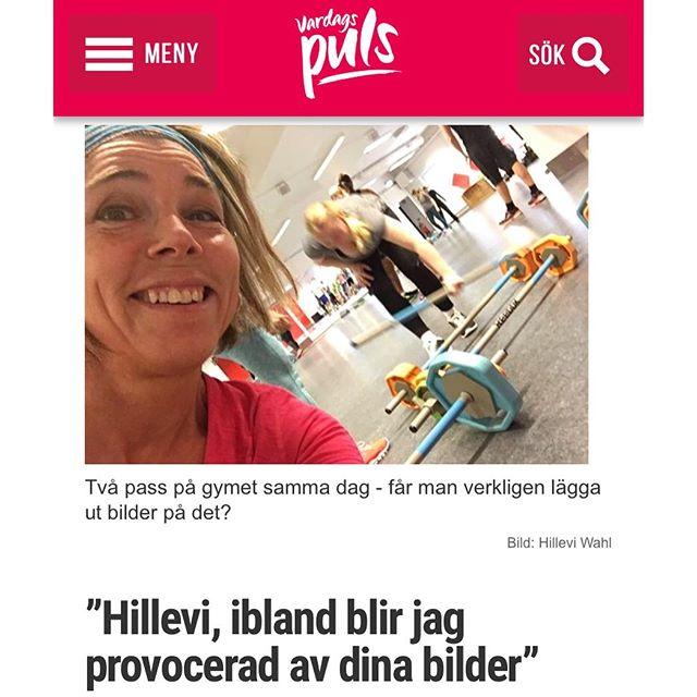 Det kom ett mail... http://www.vardagspuls.se/bloggar/hillevi-wahl/hillevi-ibland-blir-jag-provocerad-av-dina-bilder/