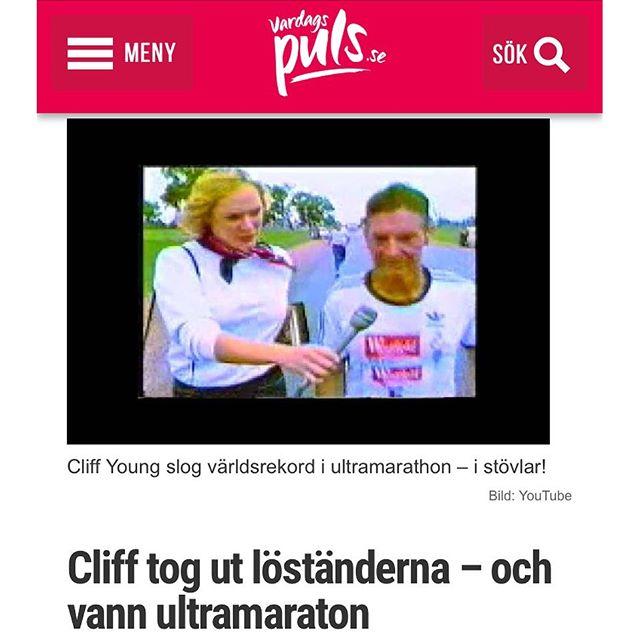 Berättelsen om Cliff Young! Jag föreläste för åttondeklassare i dag och de gick fullständigt igång på den här berättelsen. Som dessutom är helt sann. Http://www.vardagspuls.se/bloggar/hillevi-wahl/cliff-tog-ut-lostanderna--och-vann-ultramaraton/