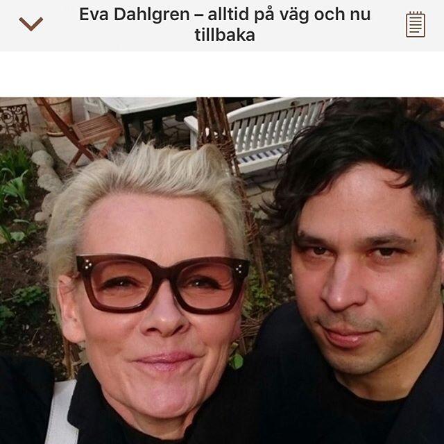Eva Dahlgren. Alltså. Kärlek. Underbara ljuvliga människa.