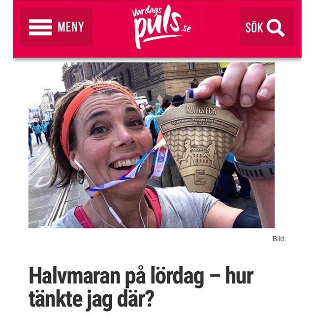 Jag skulle ju bara springa sex kilometer den här veckan. Men så dök det upp ett roligt lopp. Ni vet. Womens Health Half Marathon. Och gick det i Prag för ett år sedan borde det väl gå i Stockholm på lördag? Eller? Hur tänkte jag där? Http://www.vardagspuls.se/bloggar/hillevi-wahl/halvmaran-pa-lordag--hur-tankte-jag-dar/