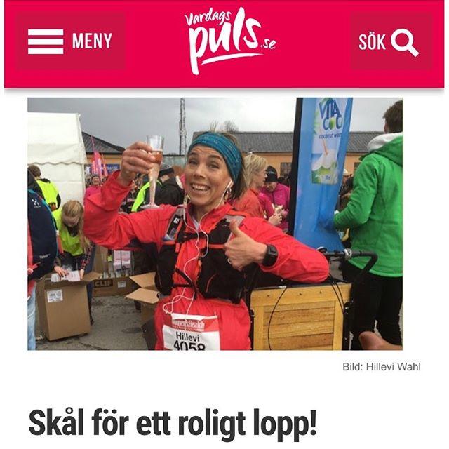 Skål för ett roligt och härligt halvmarathon! Liten lopptapport. Http://www.vardagspuls.se/bloggar/hillevi-wahl/skal-for-ett-roligt-lopp/