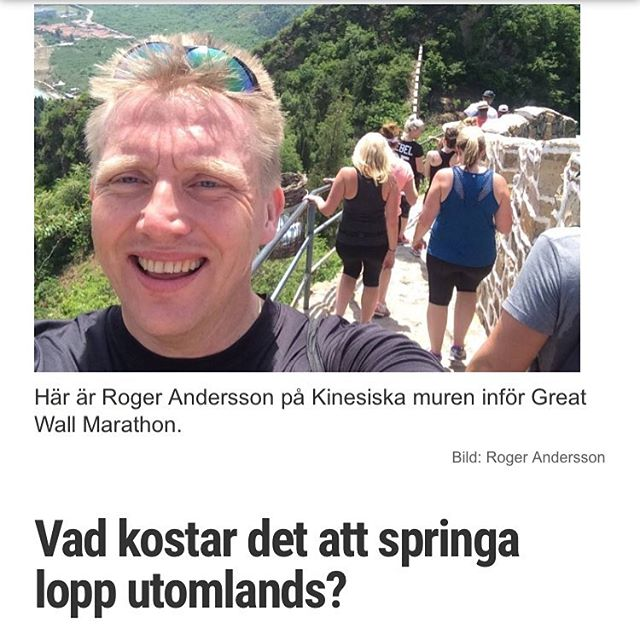 Min kompis Roger har sprungit 85 maraton i 33 länder. Så han vet allt om att springa lopp utomlands. Varsågoda, här hans bästa tips! Http://www.vardagspuls.se/bloggar/hillevi-wahl/vad-kostar-det-att--springa-lopp-utomlands/