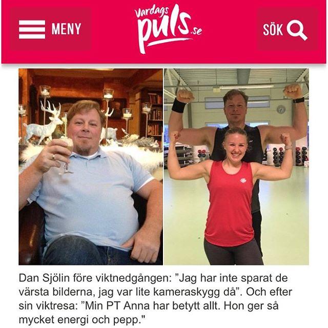 Min vän Dan. Han har tränat bort 22 kilo på tre månader och slipper nu alla diabetesmediciner. Läs om hur han har lyckats. http://www.vardagspuls.se/kropp--halsa/gick-ner-22-kilo-pa-tre-manader/
