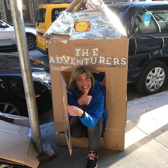 Man hittar så mycket roligt på gatan i New York.