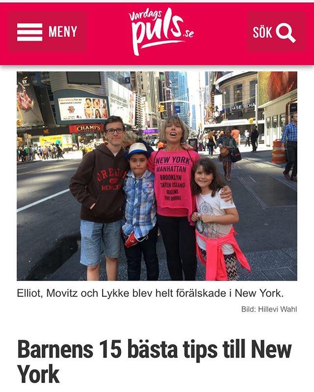 Vad tyckte barnen om New York? De älskade! Här är deras 15 bästa tips. De flesta är dessutom helt gratis! Http://www.vardagspuls.se/bloggar/hillevi-wahl/barnens-15-basta-tips-till-new-york/