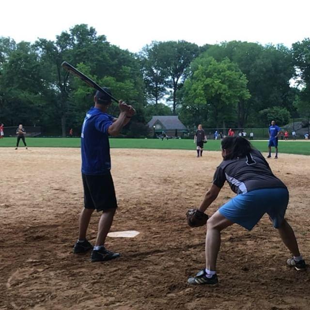 Vi kollar baseball! Trodde man väl aldrig. Men riktigt spännande. Och bra pepp.