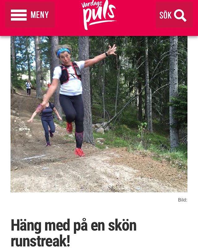 10 dagar på min runstreak. Gängmedlem du också! Bloggen uppdaterad med filmtajm. Http://www.vardagspuls.se/bloggar/hillevi-wahl/hang-med-pa-en-skon-runstreak/