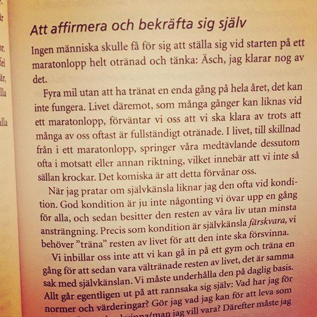 Rolig lopp-liknelse av Mia Törnblom i Självkänsla nu! @miatornblom
