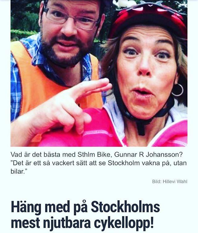 Har ni inte kört Sthlm Bike så är det dags nu! Liten miniintervju med Mirjam Wolff, som vet allt om loppet! @vardagspuls @sthlmbike Http://www.vardagspuls.se/bloggar/hillevi-wahl/hang-med-pa-stockholms-mest-njutbara-cykellopp/