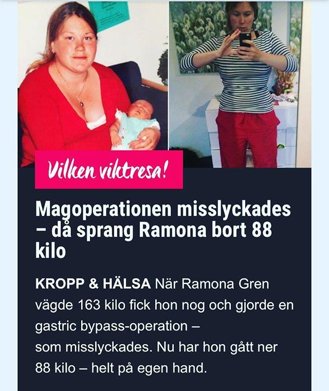 Wow vilken tjej! Jag har fått den stora ynnesten att intervjua Ramona, denna fantastiska kvinna och mamma. Läs om hennes resa från 163 kilo till i dag, när hon är spinninginstruktör och siktar på Iron Man. Http://www.vardagspuls.se/kropp--halsa/gick-ner-88-kilo--helt-pa-egen-hand/