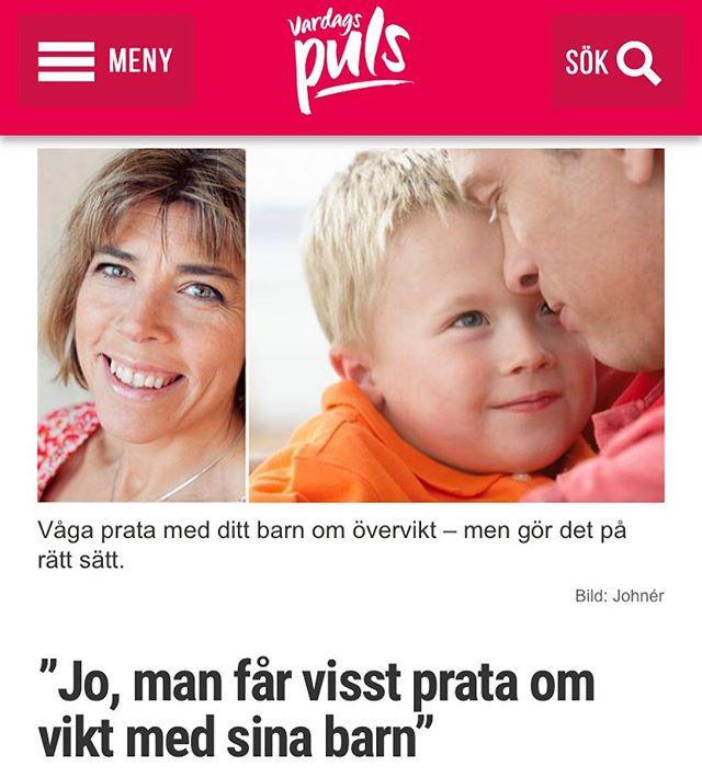 Jo. Man får prata om vikt med sina barn. Mitt inlägg i debatten: http://www.vardagspuls.se/kropp--halsa/vaga-prata-vikt-med-ditt-barn/
