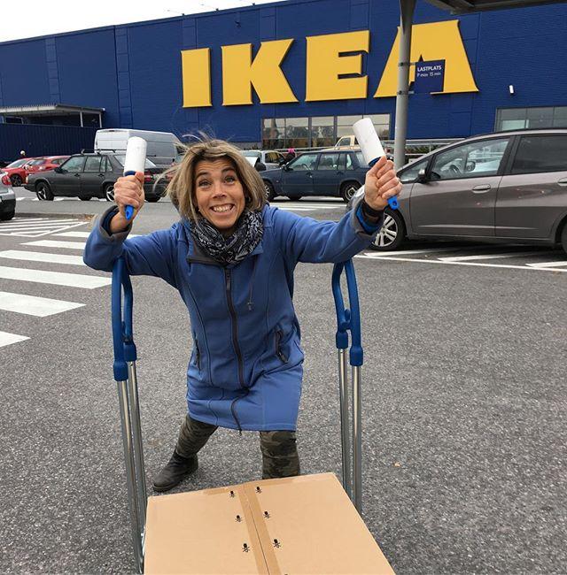Tio minuter på Ikea! Måste vara nytt PB! @ikeasverige