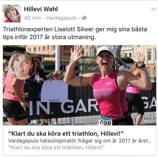 Åh, det ska bli så roooiligt! Http://www.vardagspuls.se/motion--traning/klart-du-ska-kora-ett-triathlon-hillevi/