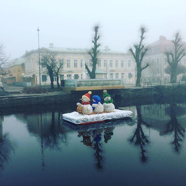 Julstämning i Uddevalla.