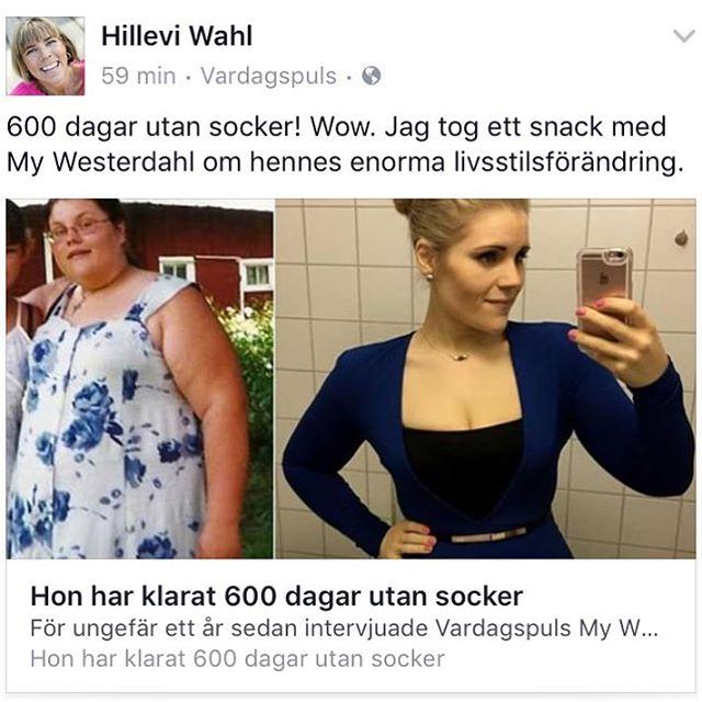 600 dagar utan socker! Wow! Tack @lchfingenjoren.se för att jag fick ta ett snack med dig. Vilken livsstilsförändring. @vardagspuls Http://www.vardagspuls.se/kropp--halsa/my-har-varit-sockerfri-i-600-dagar/